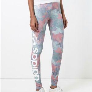 Adidas Pastel Camel Leggings
